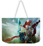 Michael Weekender Tote Bag by Mary Hood