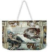 Michelangelo: Adam Weekender Tote Bag