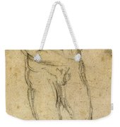 Michelangelo: Male Nude Weekender Tote Bag