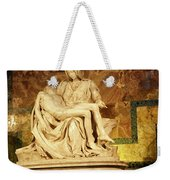 Michelangelo Masterpiece Of A Mother's Love Weekender Tote Bag