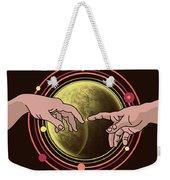 Michelangelo Space  Weekender Tote Bag