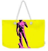 Michelangelos David - Punk Style Weekender Tote Bag by Pixel Chimp