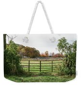 Michigan Farm And Fence  Weekender Tote Bag
