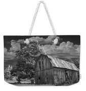 Michigan Old Wooden Barn Weekender Tote Bag