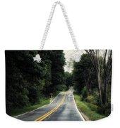 Michigan Rural Roadway In September Weekender Tote Bag