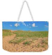 Michigan Sand Dune Landscape In Summer Weekender Tote Bag