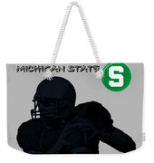 Michigan State Football Weekender Tote Bag