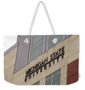 Michigan State University Signage 02 Weekender Tote Bag