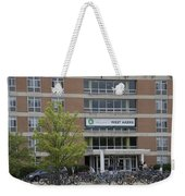 Michigan State University Welcome To Akers Signage Weekender Tote Bag