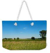Michigan Summer Fields Weekender Tote Bag