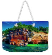 Michigan  Up Pictured Rock Kayakers 9060900109 Weekender Tote Bag