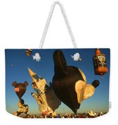 Mickey Mouse And Friends - Hot Air Balloons Weekender Tote Bag