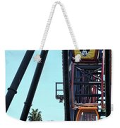 Mickey Donald Ferris Wheel California  Weekender Tote Bag