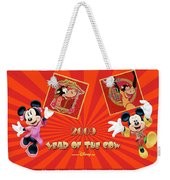 Mickey Mouse And Friends Weekender Tote Bag