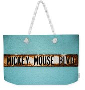 Mickey Mouse Blvd Weekender Tote Bag