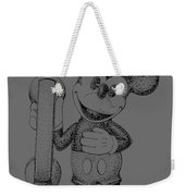 Mickey Mouse Novelty Phone Patent 1978 Weekender Tote Bag