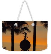 Mickey Mouse Sihouette Weekender Tote Bag