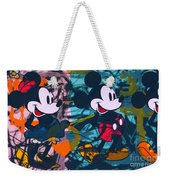 Mickey Mouse Vs. Minnie Mouse Stage On Weekender Tote Bag