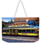 Mickey's Dining Car Weekender Tote Bag