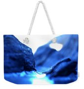 Micro Ice Canyon Weekender Tote Bag