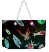 Microbial World Weekender Tote Bag
