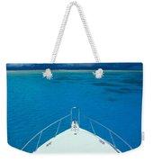 Micronesia, Boat Bow Weekender Tote Bag