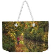 Mid Autumn On The Grand Union No 2 Weekender Tote Bag