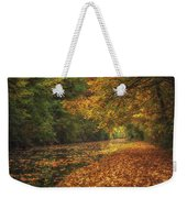Mid Autumn On The Grand Union No 4 Weekender Tote Bag