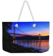 Mid-hudson Glow Weekender Tote Bag