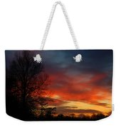 Mid-january Sunset Weekender Tote Bag