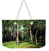 Midday Warmth In A Forest Impressionism Weekender Tote Bag
