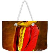 Middle Ages Iron Man Weekender Tote Bag
