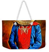 Middle Ages Spider Man Weekender Tote Bag