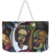 Middle Class Weekender Tote Bag