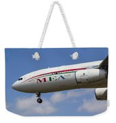 Middle Eastern Airlines Airbus A330 Weekender Tote Bag