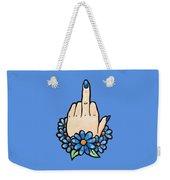 Middle Finger Weekender Tote Bag