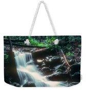 Middle Fork Red River Falls Weekender Tote Bag