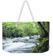 Middle Fork River Weekender Tote Bag