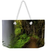 Middle North Falls Grotto Weekender Tote Bag