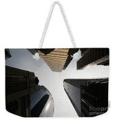 Middle Of The City Weekender Tote Bag