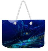 Midnight Abstract Weekender Tote Bag