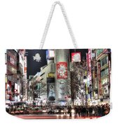 Midnight At Shibuya Weekender Tote Bag
