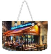 Midnight At The Brasserie Weekender Tote Bag