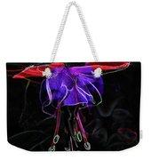 Midnight Bloom Weekender Tote Bag