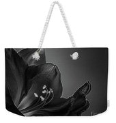 Midnight Blue Amy Bw Weekender Tote Bag