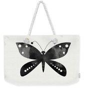 Midnight Butterfly 4- Art By Linda Woods Weekender Tote Bag by Linda Woods