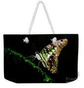 Midnight Butterfly Weekender Tote Bag