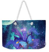 Midnight Butterfly Weekender Tote Bag