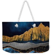 Midnight Desert Moon Weekender Tote Bag