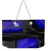 Midnight Weekender Tote Bag by Ely Arsha
